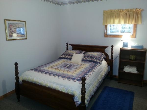 Purple bedroom 1